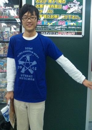 2012/03/18 ストライクウィッチーズTシャツ