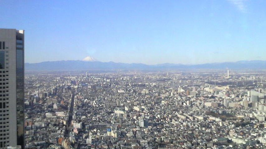 富士山ビルあり