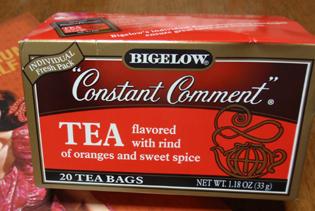 夫のお土産紅茶