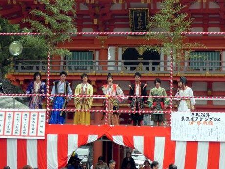 20140204生田神社豆まき001