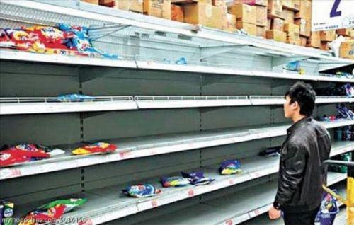 上海洗剤売り切れ