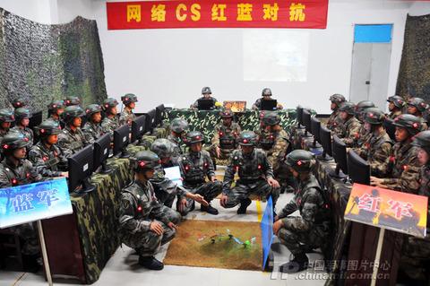 中国軍事訓練1