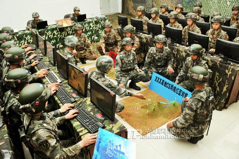 中国軍事訓練3