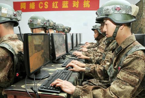 中国軍事訓練2