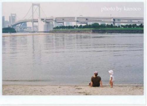 海と親子520