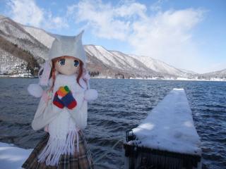 木崎湖2011-01-13