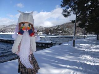 木崎湖2011-01-14