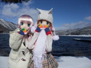 木崎湖2011-01-15