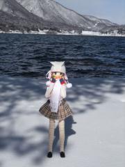 木崎湖2011-01-16