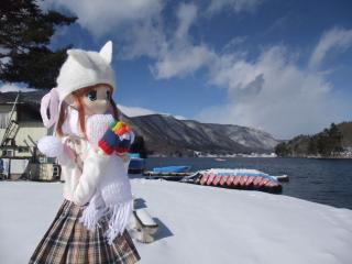 木崎湖2011-01-25