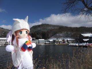 木崎湖2011-01-27