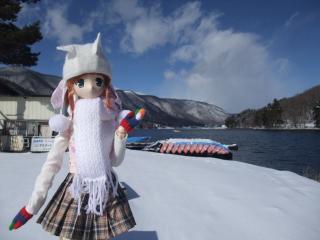 木崎湖2011-01-26