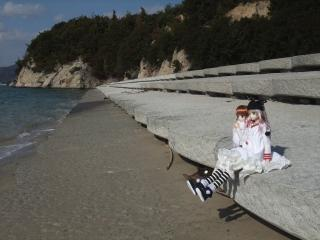 うさぎ島2011-01-22