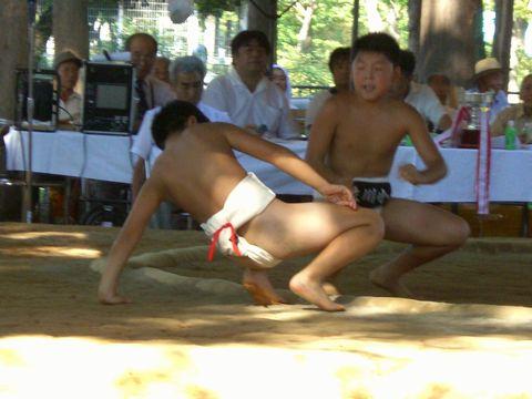 学童相撲 1
