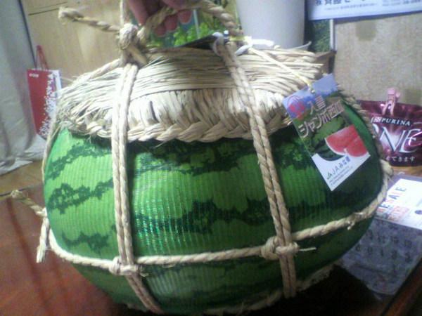 ジャンボ西瓜