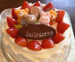 あいりす生誕ケーキ