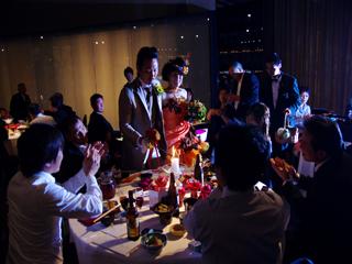 キャシ結婚式