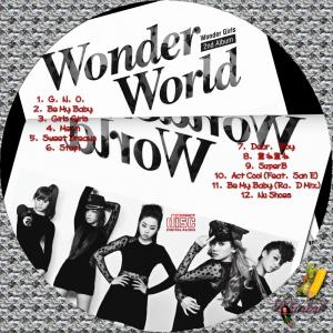 Wonder Girls - Wonder Worldレーベル1