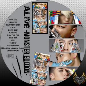 BIGBANG ALIVE -MONSTER EDITION-CD