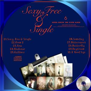 Super Junior  Sexy, Free  Single