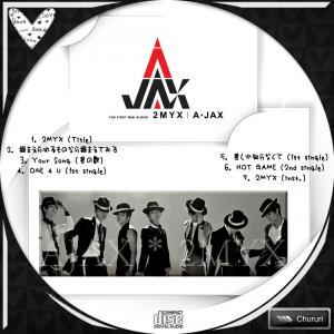 A-JAX 1st Mini Album - 2MYX (韓国盤)