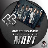 BTOB - MOVE 5th mini Album (韓国盤)はんよう