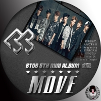 BTOB - MOVE 5th mini Album (韓国盤)