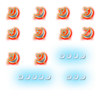 moon font夜警日誌ナンバー