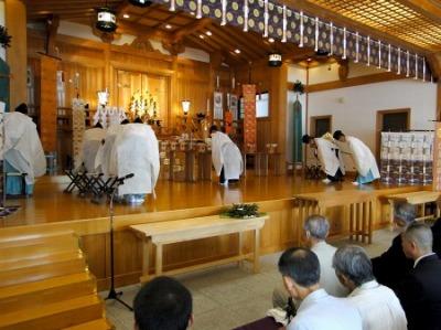 護国神社主催の英霊感謝祭