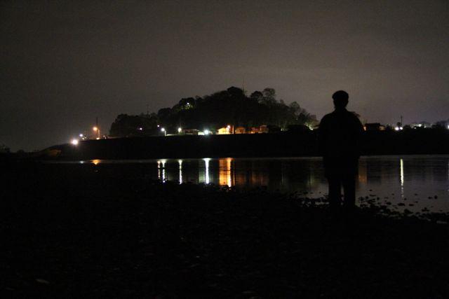 善入寺 夜
