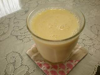 パイナップル豆乳