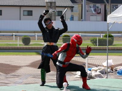 120708川崎競馬オープンデー ゴーバスターズショー