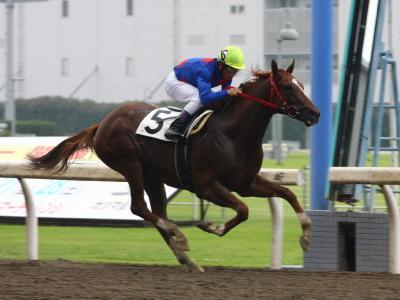 120706川崎01R2歳新馬優勝ブルーシュネル