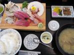 刺身定食1575円
