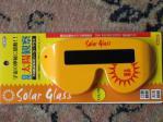 金環日食用メガネです