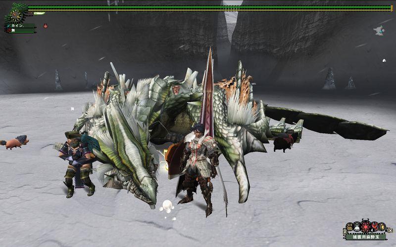 ドラちゃん捕獲IN雪山
