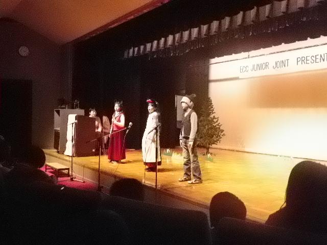 長女の発表会