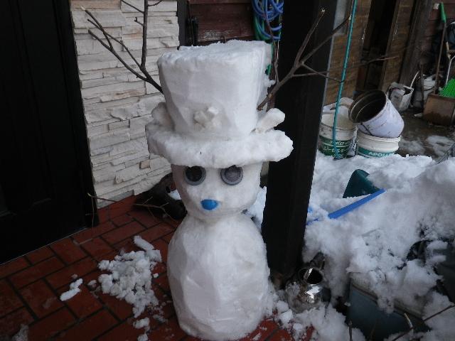 チョッパー雪だるま