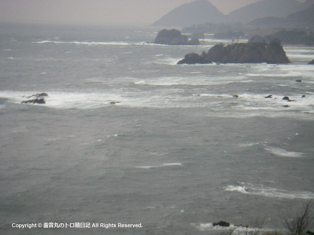 今日の海20100321
