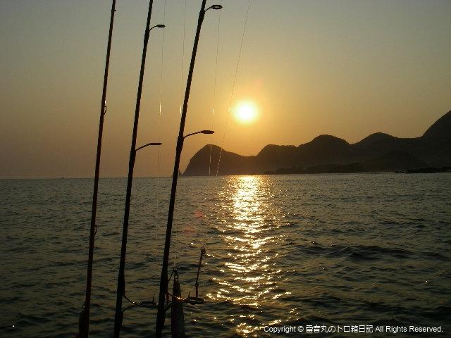 AM6:00の太陽