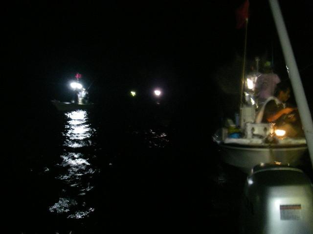 丹険隊2号艇と合体