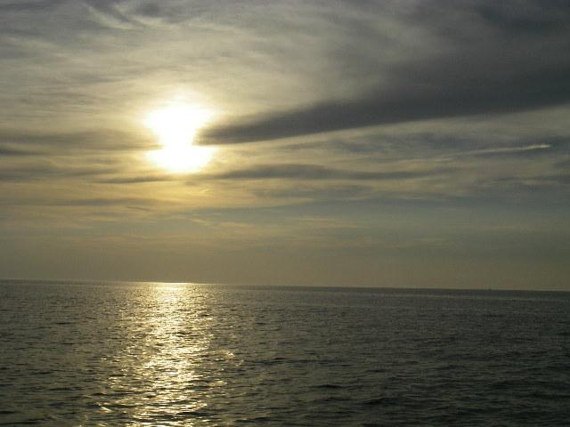 5時の太陽