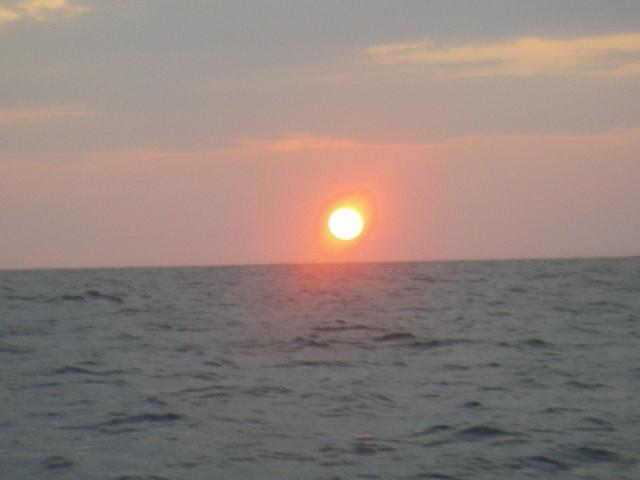 日没前に終了