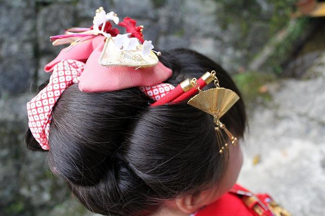 自前の日本髪