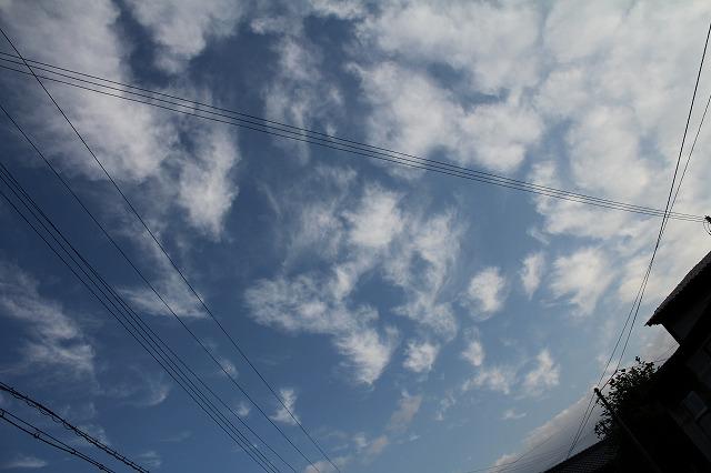 10月16日の空