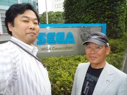 Sega本社前2S