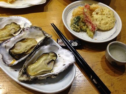 12292013天麩羅と牡蠣S1