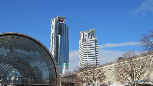 インテックス大阪からの空