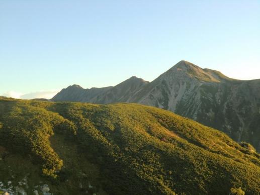 鷲羽から水晶岳