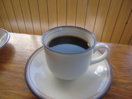 コーヒーもいただきましょ